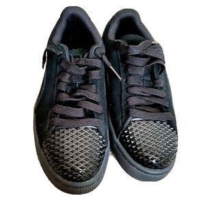 Puma Suede Jelly Spikes Casual Women Shoes 5.5 edy